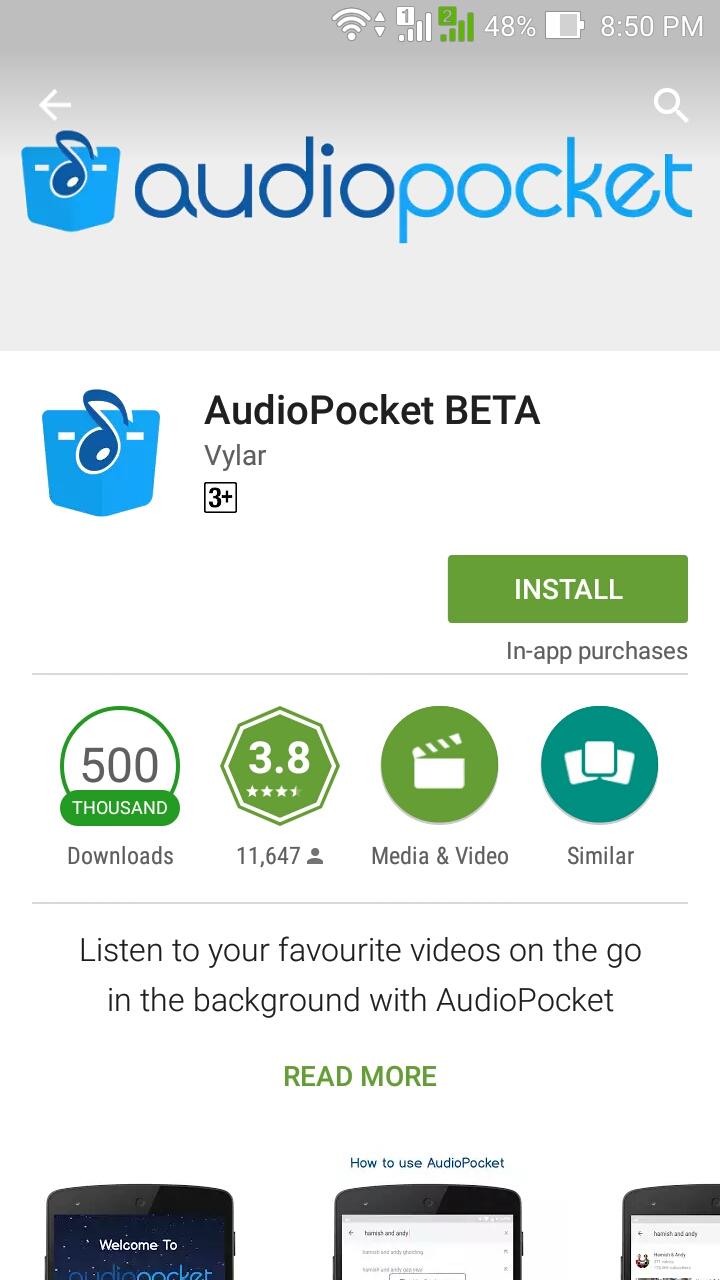 Audio Pocket