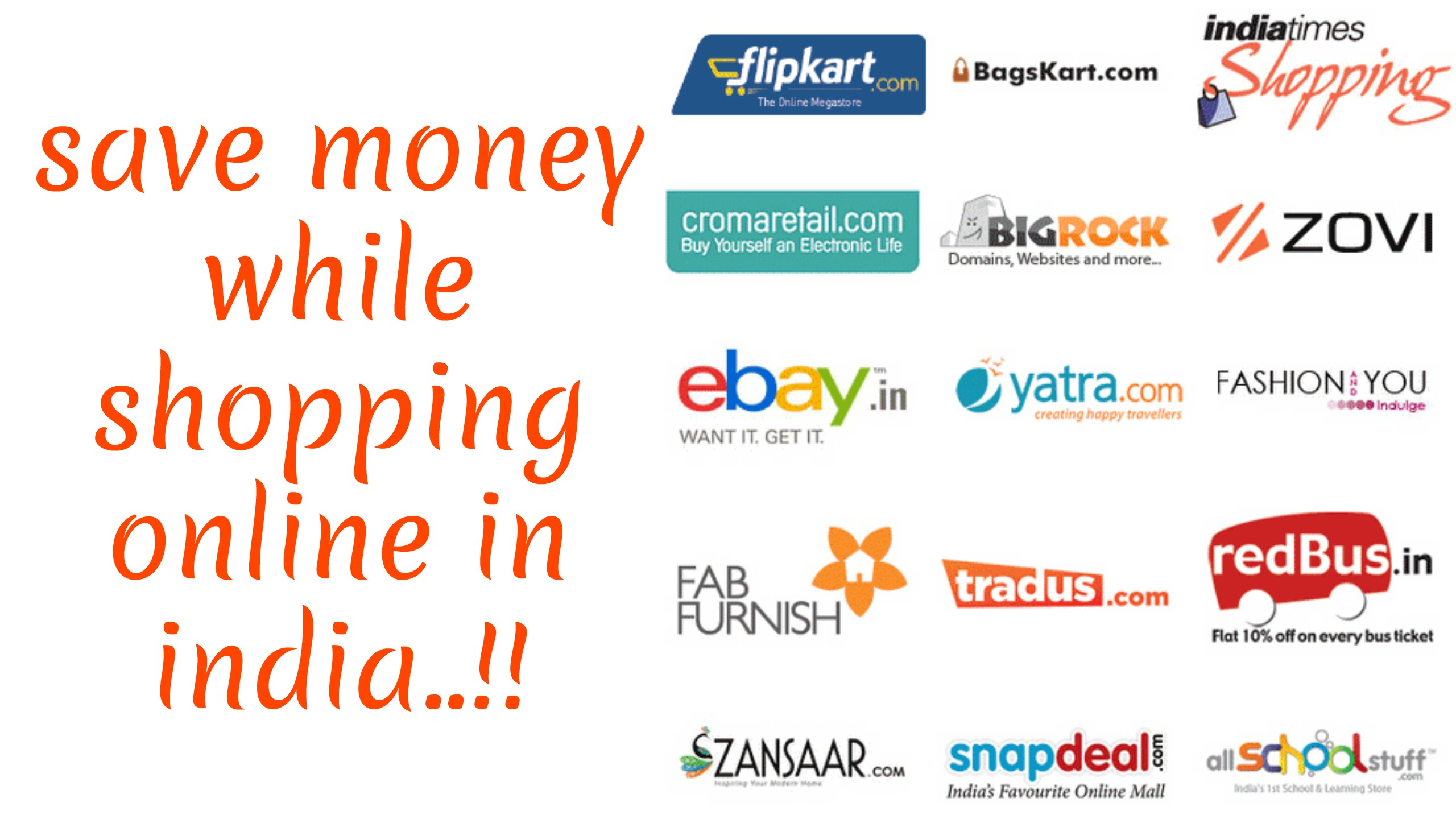 online shopping in india Take advantage of great online shopping deals in india with paypal click here to check out local deals on electronics, accessories, clothing, and more.