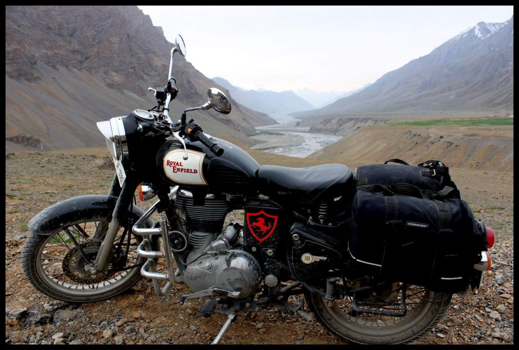 Royal Enfield 350 ladakh tour