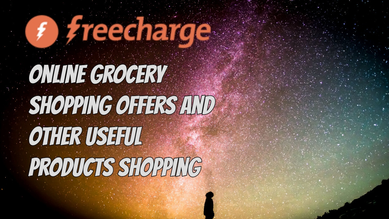 Online grocery shopping vouchers