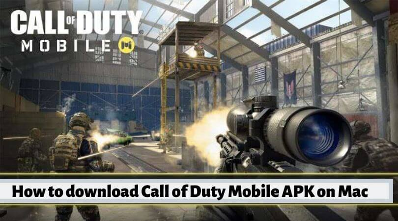 download Call of Duty Mobile APK on Mac