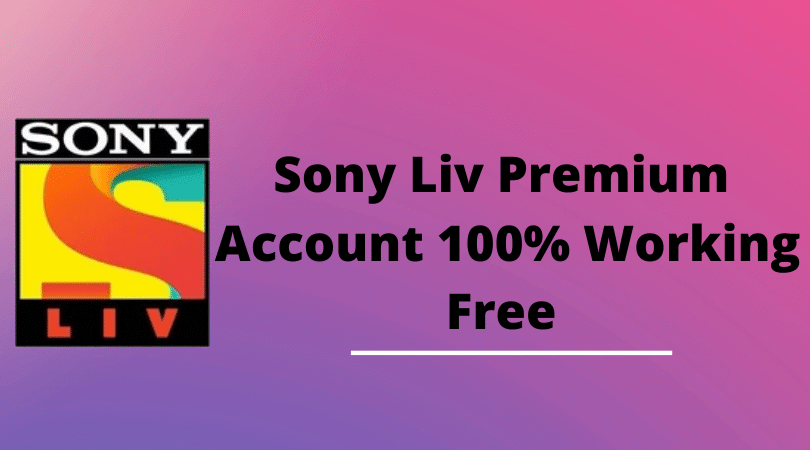 sony liv premium account