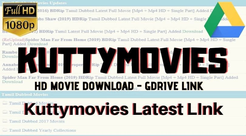 kuttymovies - Homepage: Download HD Tamil-Telugu-Malayalam-Hindi Movies