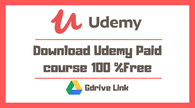 Udemy Paid Courses Free