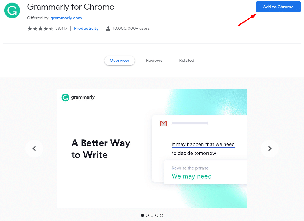 grammarly trial