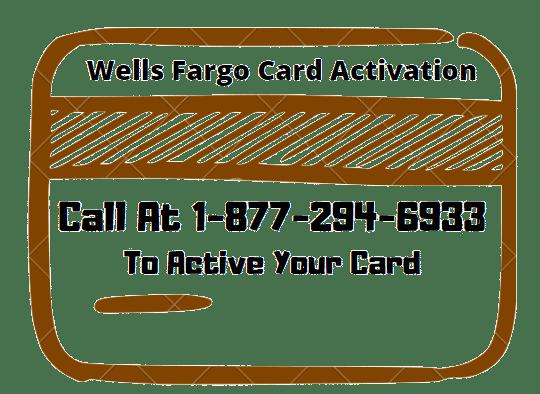 wells fargo activate