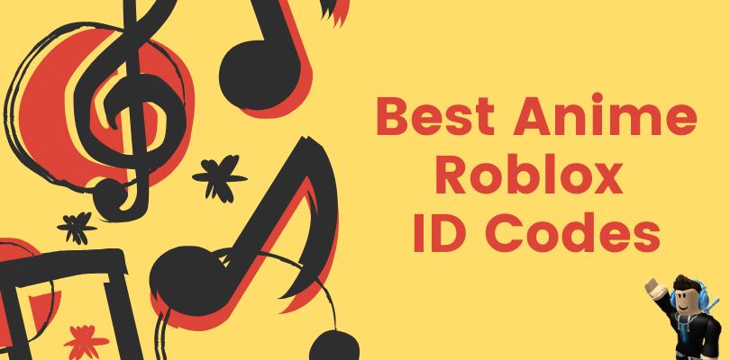 Anime Roblox ID